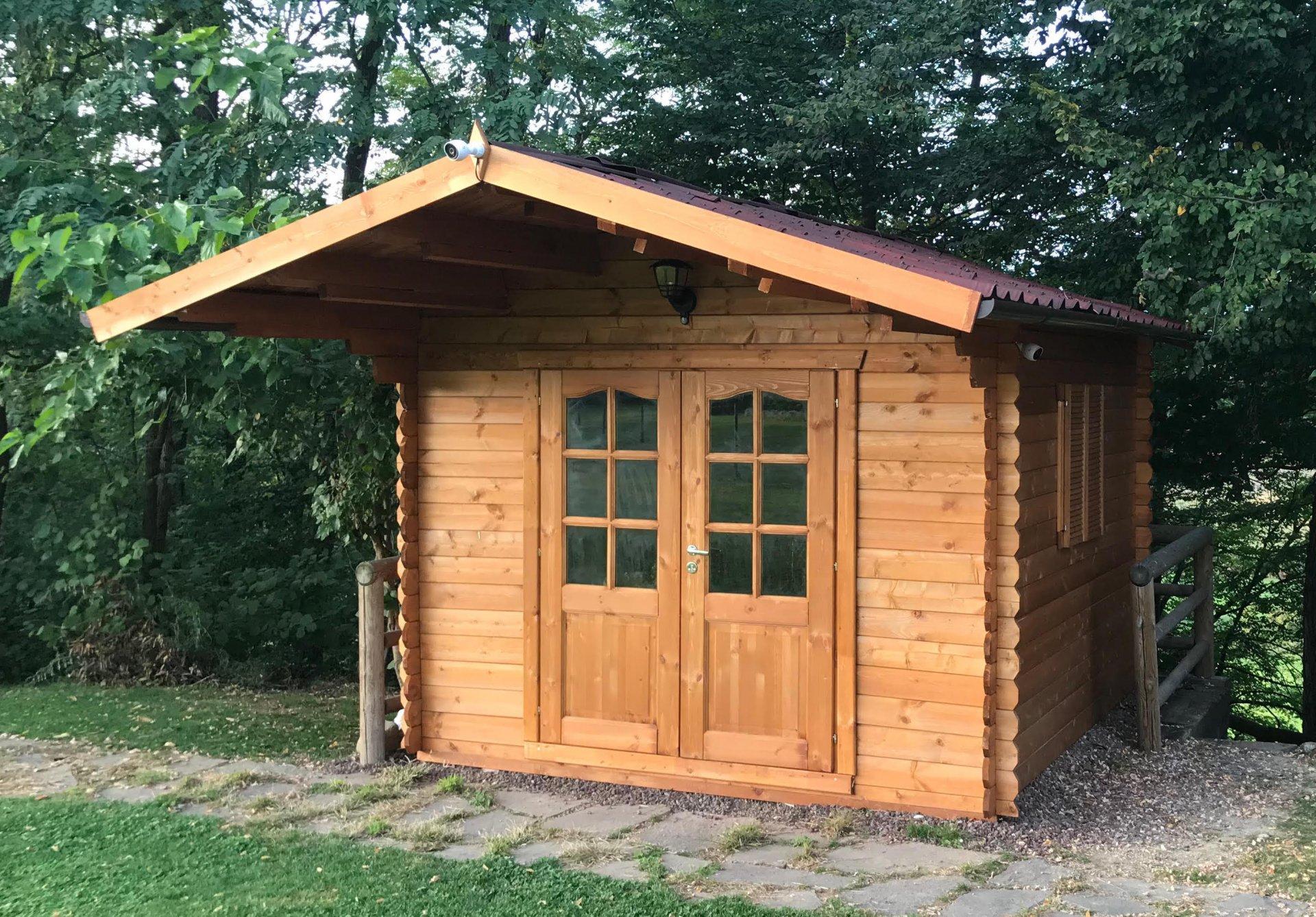casetta in legno 3x3 medie dimensioni installazione veloce