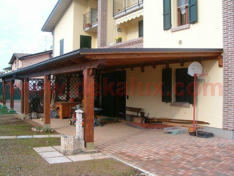 spesso Immagini tettoie in legno TU45