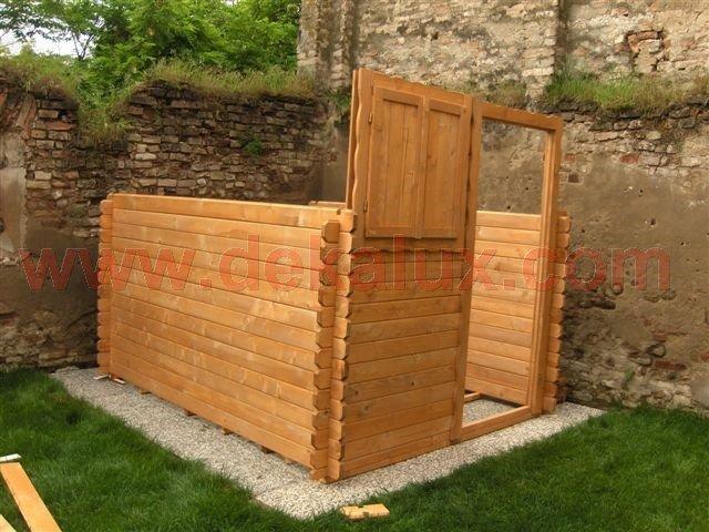 Foto del montaggio casette in legno for Casette di legno del paese