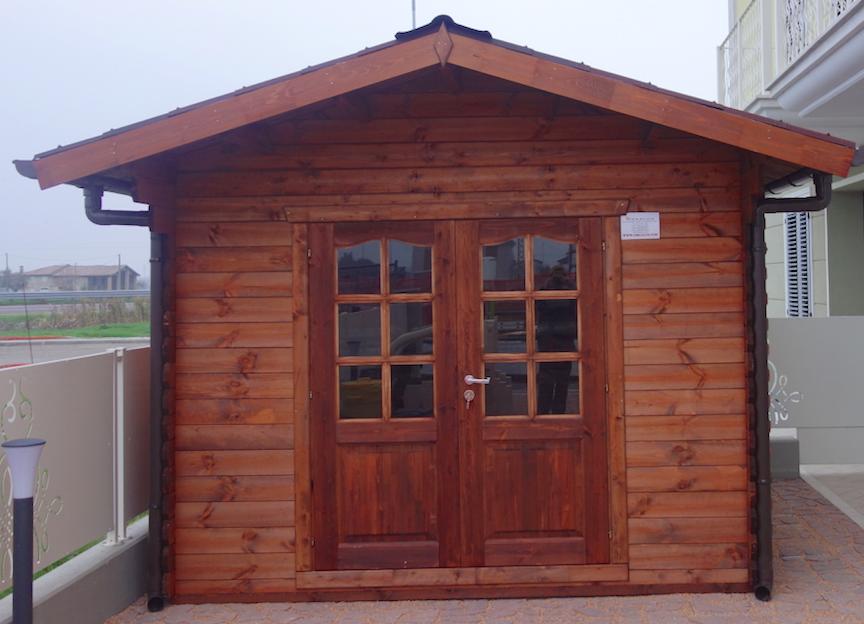 Casetta in legno 3x3 medie dimensioni installazione veloce for Produzione casette in legno romania