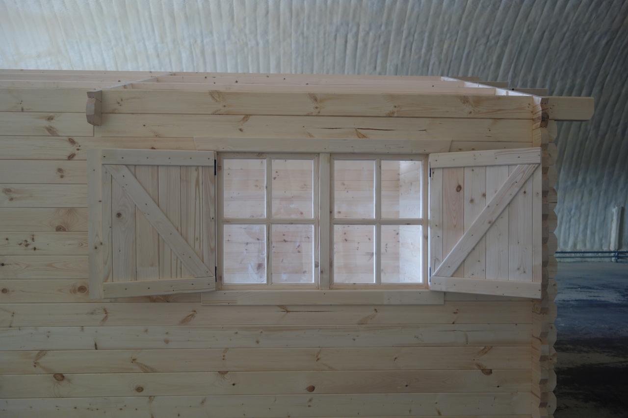 Bungalow In Legno Con Veranda 4x4 Di Prima Qualit