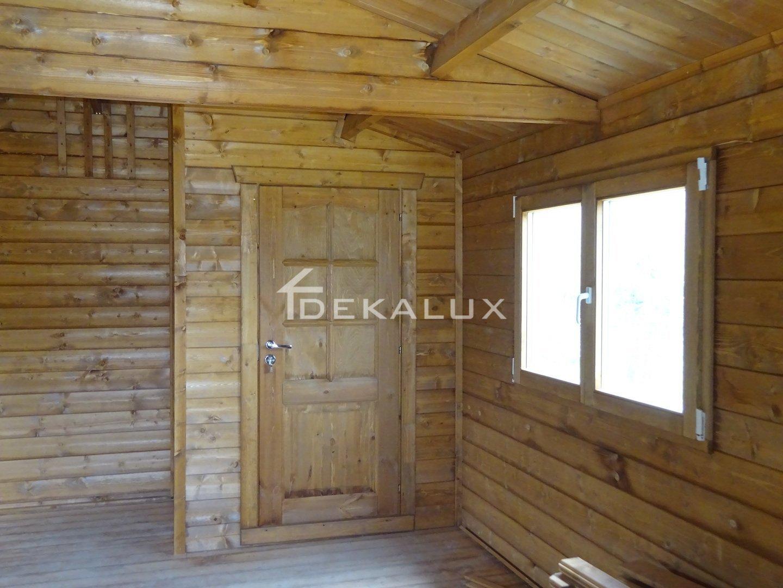 Interni Case Prefabbricate In Legno bungalow legno 5x4 con accessori in vendita