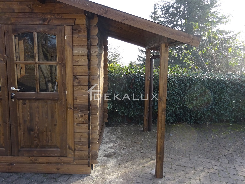 Casetta In Legno 2 2x2 2 Spessore 28 Mm Con Porta Doppia
