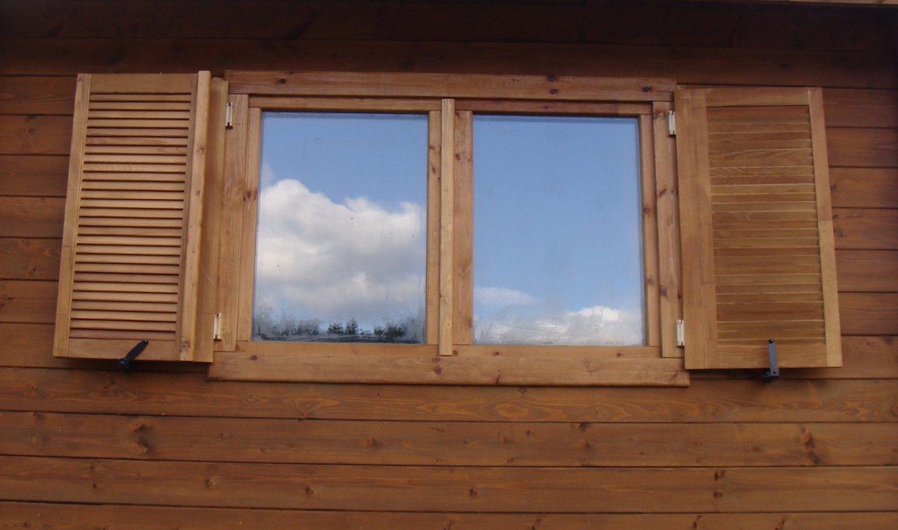 Garage in legno 3 5x5 44 mm for Casette legno 5x5