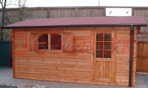 Garage legno dekalux for Prezzo per costruire un garage