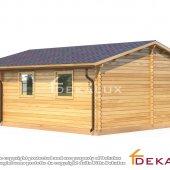 Bungalow in legno 6X5,5 + 1,5