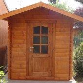 Casetta in legno 2x3, completamente accessoriata!