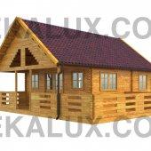 Bungalow in legno medio