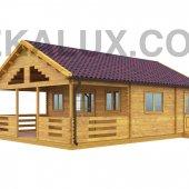 Bungalow in legno 6x9