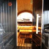 Sauna-botte ALEX DE LUX