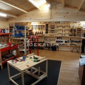 Garage in legno 3x5 (44 mm)