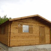 Bungalow in legno 5,2x6 (44mm) con parete divisoria