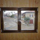 Bungalow in legno 5,2x5,2 (44mm) con parete divisoria