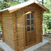 Casetta in legno da giardino 1,8x1,8 44mm