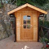Casetta in legno da giardino 1,5x2,5 44mm
