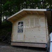 Casetta in legno 3x2 (28mm) con porta singola