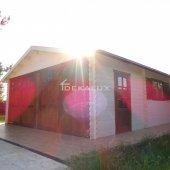 Garage in legno 6x6 (44 mm)