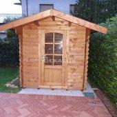 Casetta in legno da giardino 2x2,5 44mm
