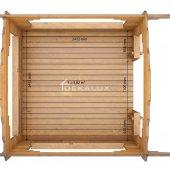 Gazebo in legno 2,5X2,5 (44 mm)