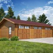 Garage in legno 10x5(44 mm)