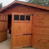 Garage in legno 5x6. Spessore 44 mm
