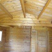 Bungalow in legno 5x6 (44 mm)_porta doppia