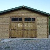 Garage in legno 5x5(44 mm)
