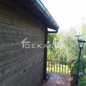 Bungalow in legno 5x5 (44mm)_porta singola