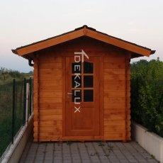 box garage casetta in legno