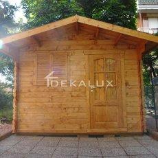 Box garage esterno in legno
