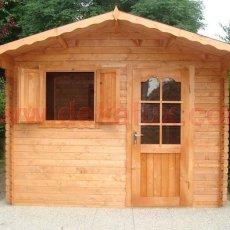 casetta in legno di qualità