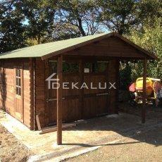 garage in legno box auto