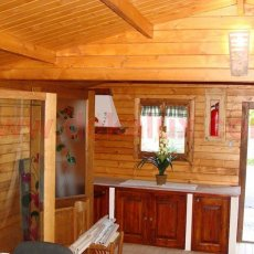 interni casetta in legno