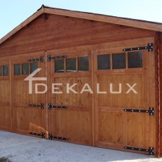 produzione box garage in legno da giardino