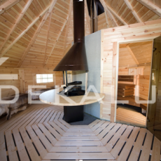 vendita sauna in legno kota finlandese