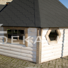 vendita sauna modello kota finlandese da 9 mq