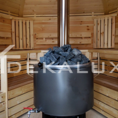 sauna in legno modello kota da 9 mq interni