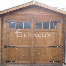 vendita box garage in legno