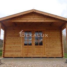 vendita bungalow in legno 4x5 con tettoia Arezzo