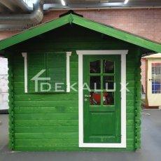 vendita casetta in legno con finestra