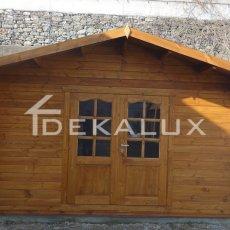 vendita casetta in legno misura 4x3
