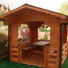 vendita di gazebo in legno da giardino