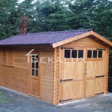 vendita garage prefabbricato in legno