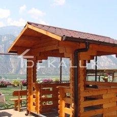 vendita gazebo in legno Parma