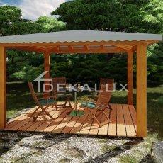 vendita produzione gazebo in legno