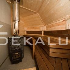vendita sauna finlandese, kota da 17 mq