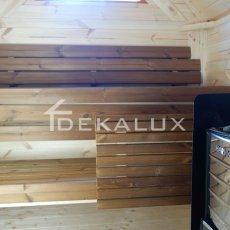 vendita sauna in legno interno box