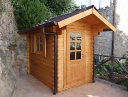 Casetta in legno 1,5X2,5
