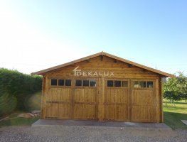 Garage in legno 6x5 (44 mm)