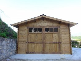 Garage in legno 4x5 (44mm)